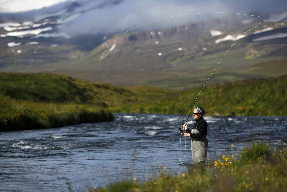 Flj ta river fishing in iceland for Fishing in iceland