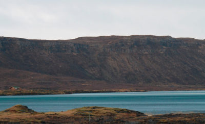 Lake Hlidarvatn in Iceland