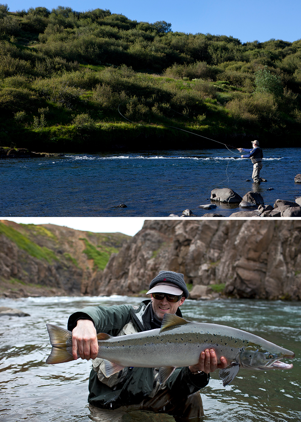 Fishing day tours from reykjavik brown trout and char for Fishing in iceland