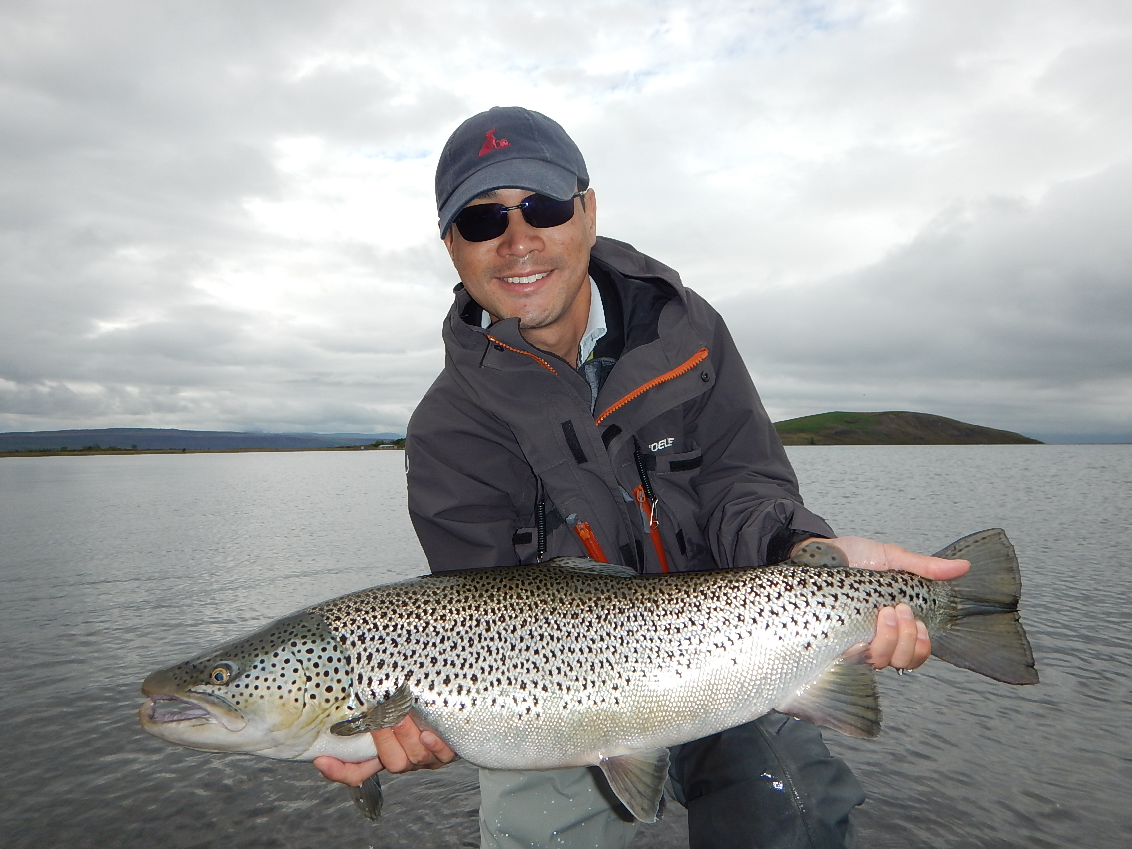 Trout fishing at ION area